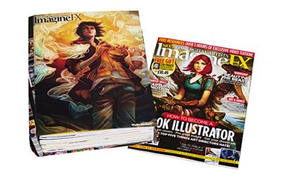 Imagine FX Binder | My Favourite Magazines
