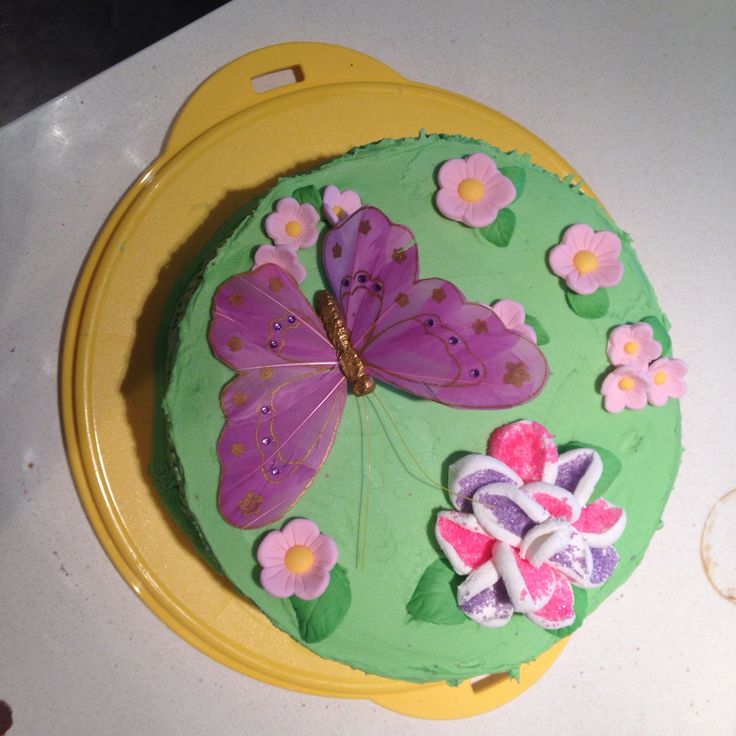 Butterfly cake for Mae