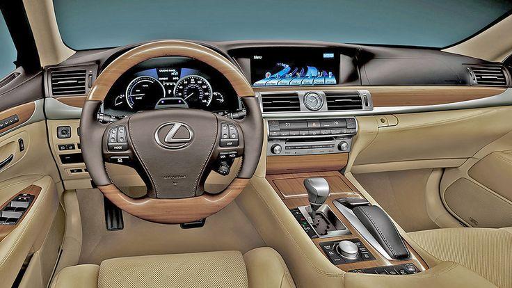 2019 Lexus LS 460 Interior Design