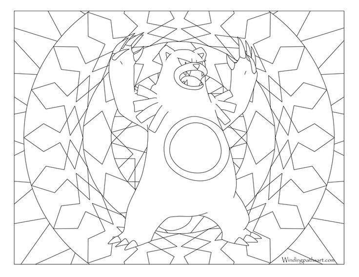 Pokemon Coloring Printable Pages Books Vintage Sheets