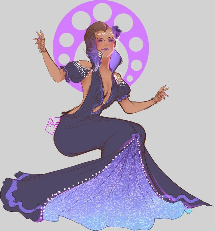 Sombra is a goddess, pass it on.