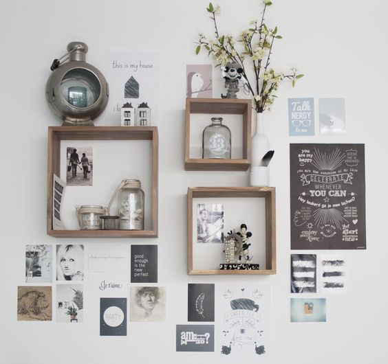 41 Easy Ways to Decorate a Blank Wall