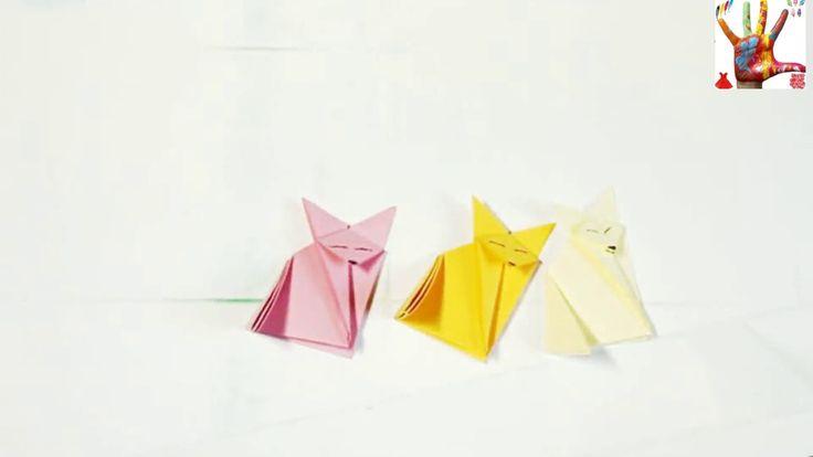 簡單折紙 動物 小狐狸