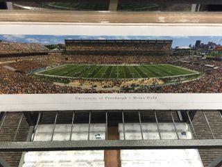 Pitt vs. Penn State commemorative game day poster - Pitt Football 2016