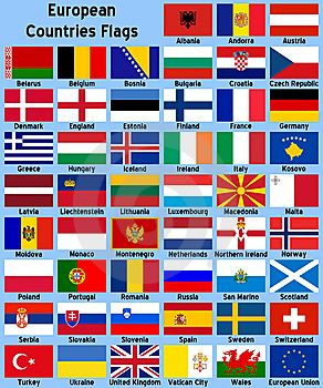 European Countries Flags cover photo - 5505687 - Timeline Images