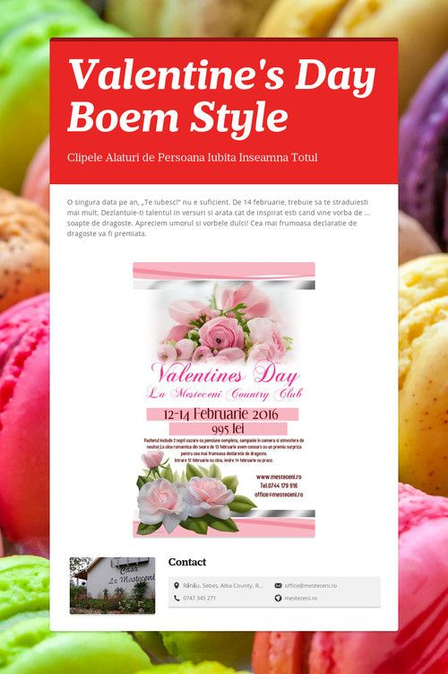 Valentine's Day       Boem Style
