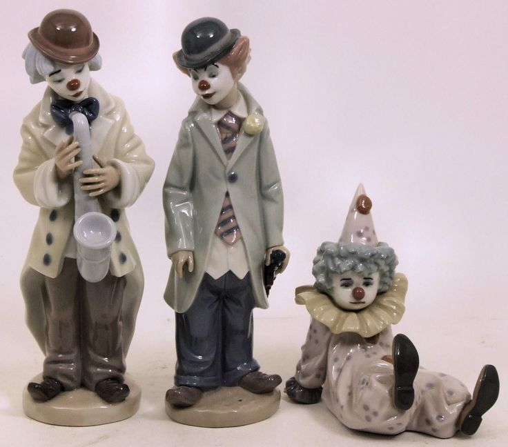 Clown Statues for Sale | Two day Sale of Antiques, Fine Art, Ceramics,Glassware and Various ...
