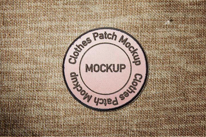 Clothes Patch Mockup 148431 Mockups Design Bundles Mockup Design Patches Design Bundles