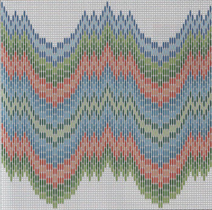 Вышивка барджелло - история создания, техника выполнения - схемы для вышивки