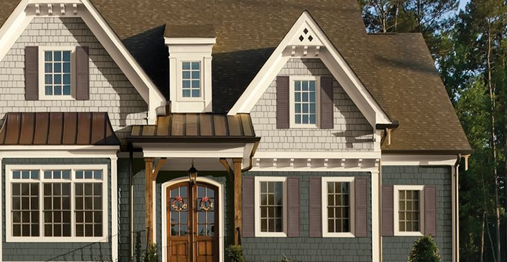 91 best exteriors dream home images on pinterest for House siding styles