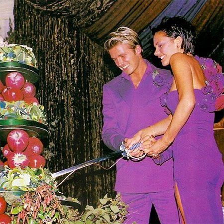 Виктория Бекхэм поздравила мужа Дэвида с 17-летием их брака