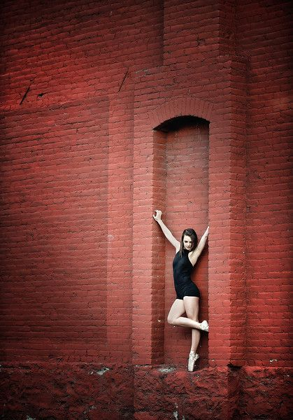 """Freestyle Ballerina"". This is my urban ballerina dance project for Boise. In…"