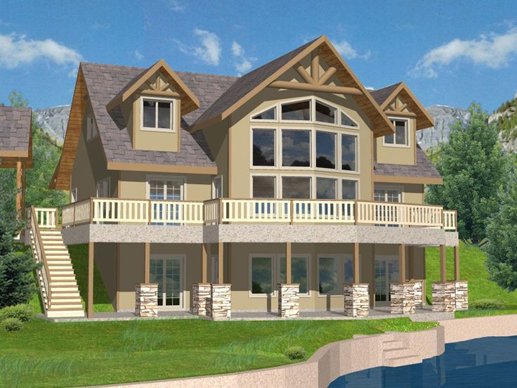 178 best Homes Cottage Style Plans images on Pinterest