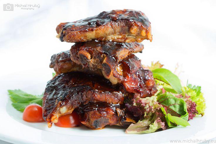 https://flic.kr/p/rQU6f4 | Marinated pork ribs | Photos for restaurants Břevnovka www.brevnovka.cz