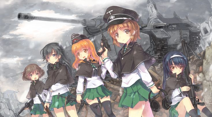 Girls Und Panzer Anime Film and New OVA Announced