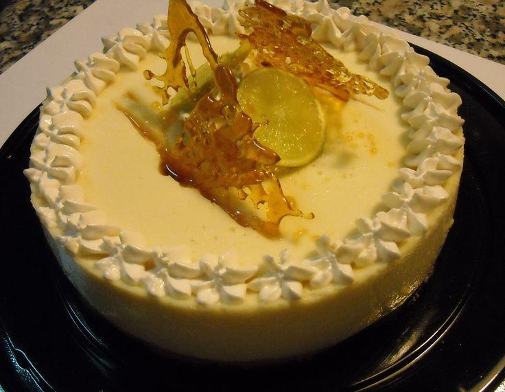 Cheesecake de Pisco Sour