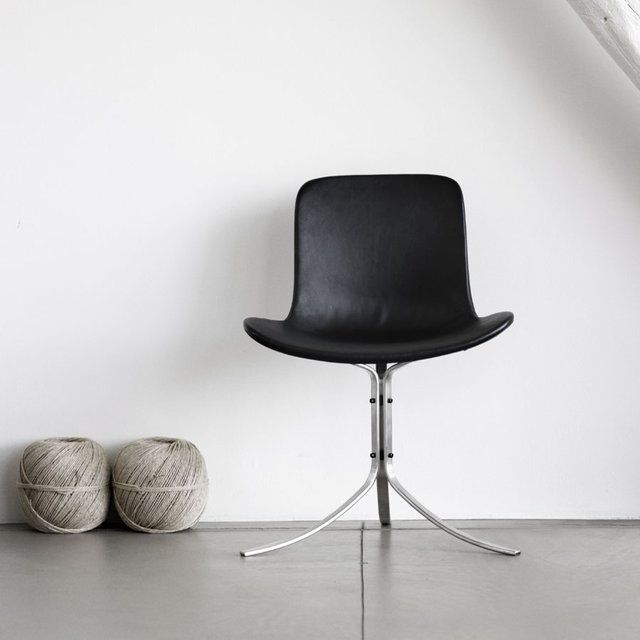 (24) Fancy - Fritz Hansen PK9 Chair by Poul Kjaerholm