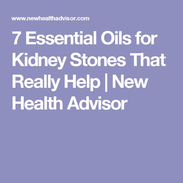 7 Essential Oils for Kidney Stones That Really Help | New Health Advisor