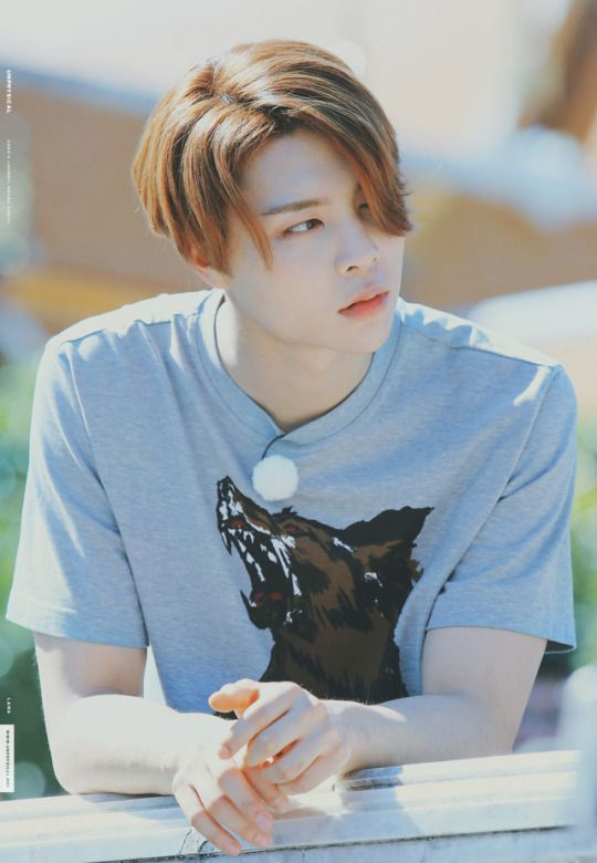 FY! NCT---He is pretty much a Visual. I'll fight you about it.