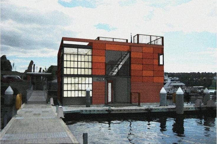 Floating House Seattle - Home & Furniture Design - Kitchenagenda.com