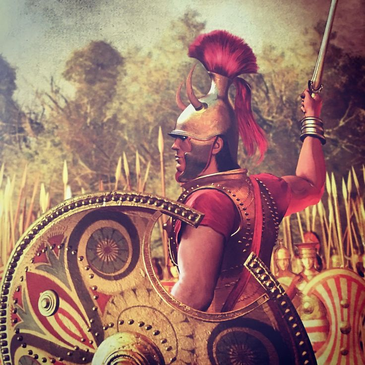 Diomedes leads the Achaean counter attack.