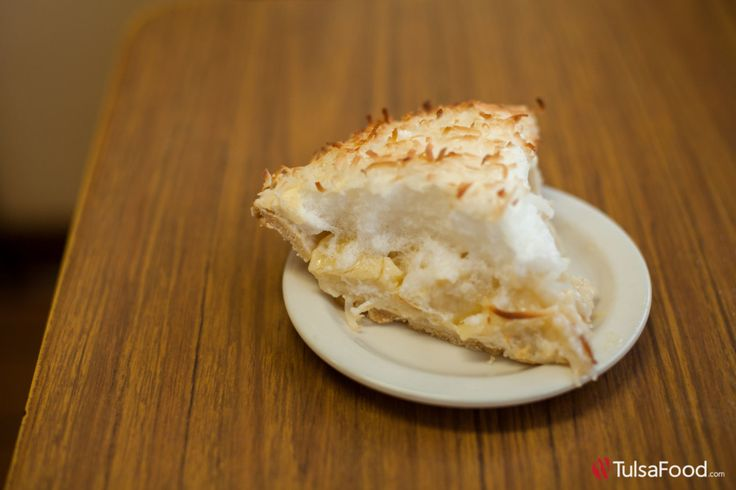 Coconut Pie from Brownies Tulsa, Oklahoma tulsafood.com
