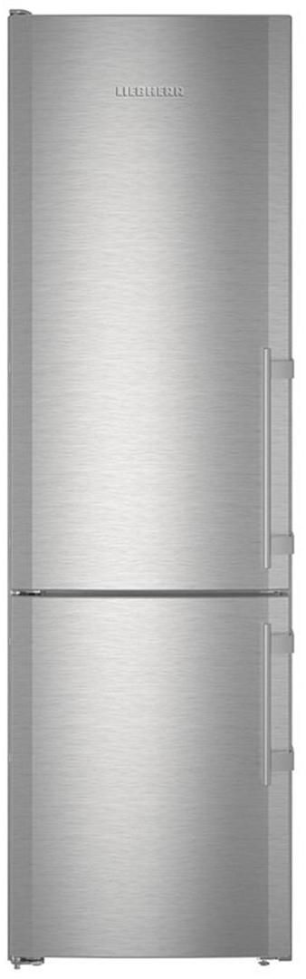 """NO ICE MAKER - Liebherr CS1321 24"""" Counter Depth Bottom Freezer Refrigerator with 12.7 cu. ft. Capacity in Stainless Steel"""