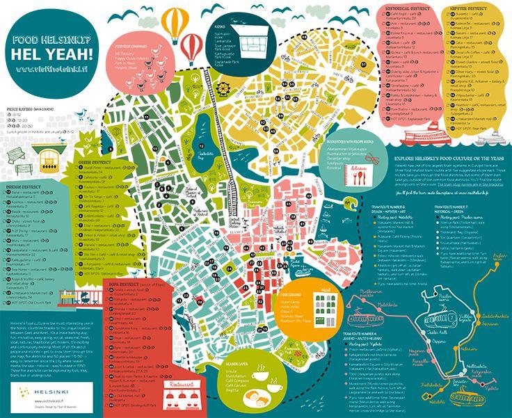 Food Map Helsinki zum Download