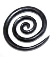 wood, wooden, ebony, tiger, organic, indonesian, striped, brown, black, tribal, inca, carved, ear, gauge, gauges, guage, spiral, hanging, ornate, taper, plugs, 8g, 6g, 4g, 2g, 0g, 00g, 3mm, 4mm, 5mm, 6mm, 8mm, 9mm, 10mm, stretched, mega, super, spirals, large, big, canada, canadian, earrings,  piercing, body, jewelry, jewellry, online, for sale, retail, store