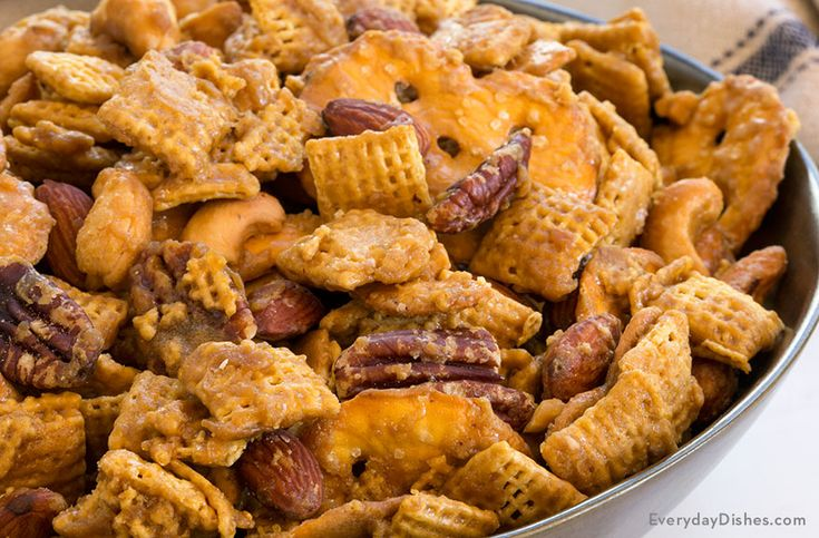 Sweet, salty and totally addictive, our recipe for toffee Chex mix will become a mainstay in your pantry. It's the perfect snack for kids and adults alike!