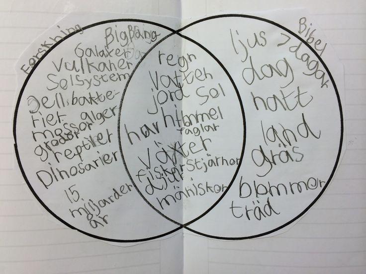 Läs- och skrivundervisning : Venndiagram i NO/SO