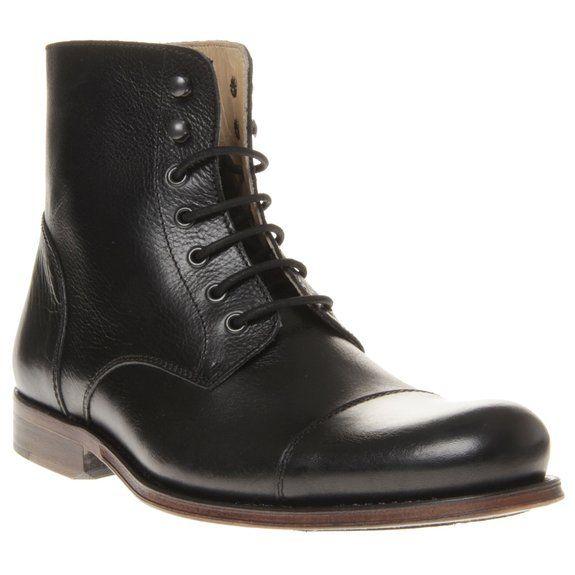 Sole Vintage Smithy Herren Stiefel Schwarz: Amazon.de: Schuhe & Handtaschen