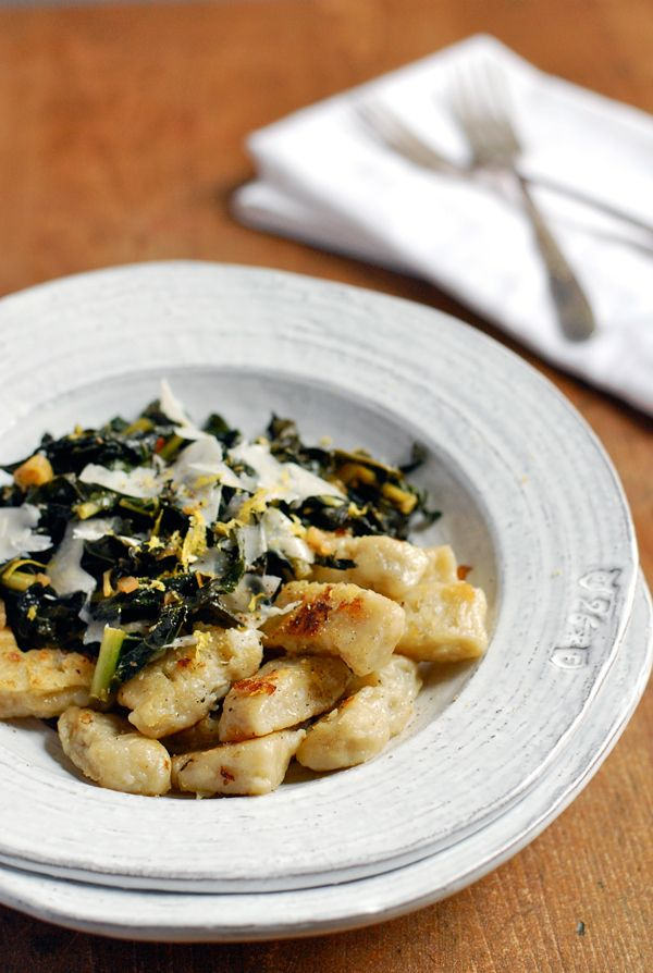 Jerusalem Artichoke Gnocchi with Sautéed Kale | 30 Delicious Things To Cook In April