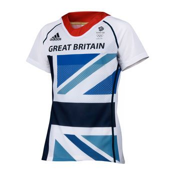 Adidas London Olympics 2012 Ladies Team GB Tee