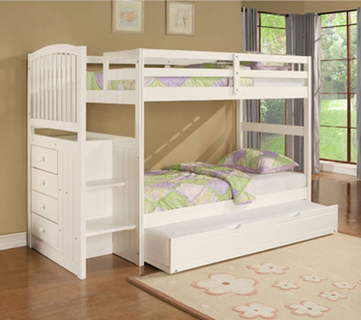 Powell White Twin Bedroom In A Box: 17 Best Images About Bunk Beds With Trundle On Pinterest