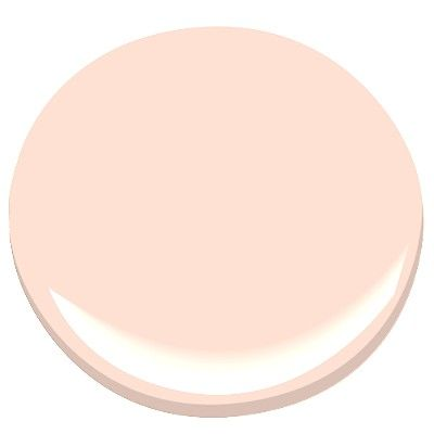 "Benjamin Moore Paint ""Peach Cloud"" 2169-60 goes with paint colors ""Whale-gray"" 2134-40 and or ""Horizon"" 1478"