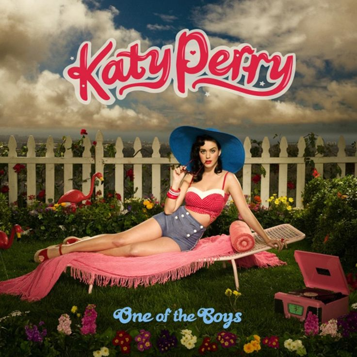 Katy Perry - One Of The Boys on Vinyl LP