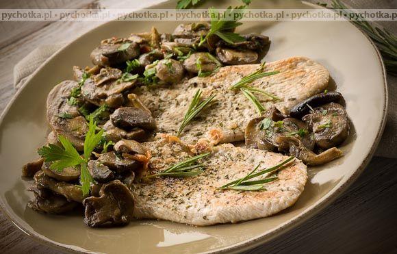 Filety rybne z grzybami