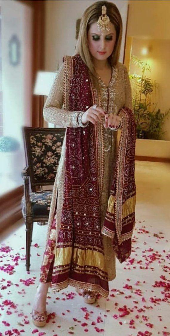 50b275158f Pakistani formal shalwar kameez, women clothing, ethnic wear, indian ...