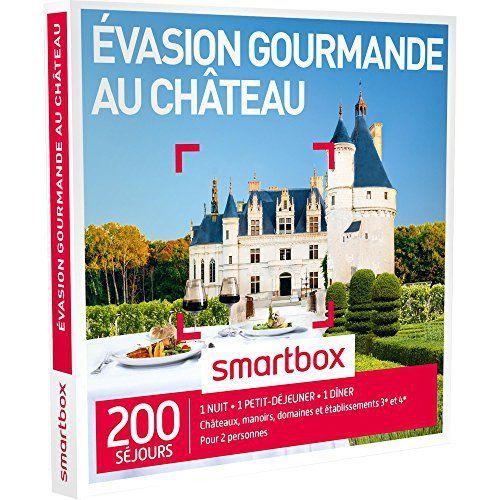 SMARTBOX – Coffret Cadeau – EVASION GOURMANDE AU CHÂTEAU – 200 séjours : châteaux, manoirs, domaines et établissements 3* et 4*: Châteaux,…