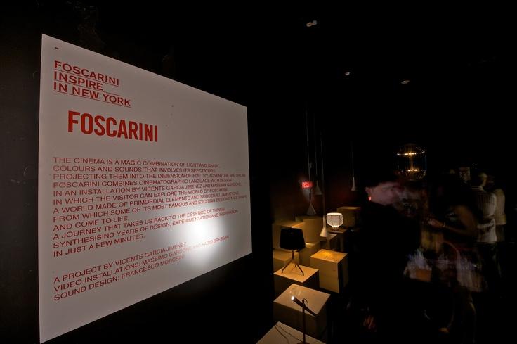 Inspire by Foscarini - New York 2012: New York, York 2012