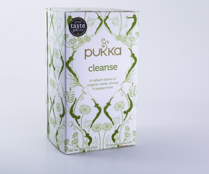 Pukka Herbs - Cleanse Tea Blend - 1 Box of 20 Bags
