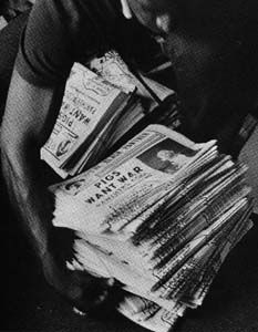 Black Panther Party Newspaper.