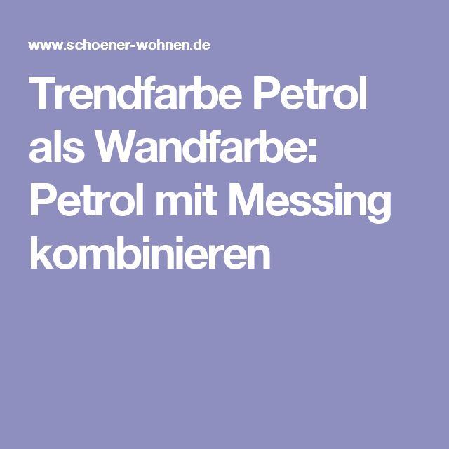 17 best ideas about wandfarbe petrol on pinterest | petrol, farbe, Wohnzimmer dekoo