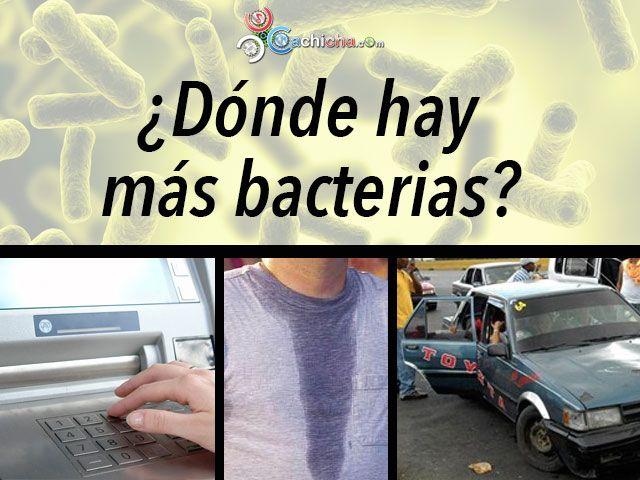 ¿Dónde Hay Más Bacterias: Carro Público, Gimnasio O Cajero Automático? #Video