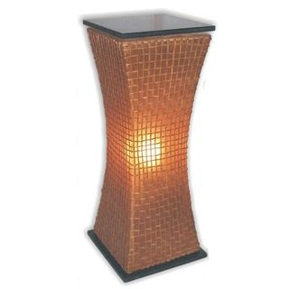 Shop for Decorative Mission Brown Geometric Transitional Floor Lamp and more for everyday discount prices at Overstock.com - Your Online Home Decor Store!