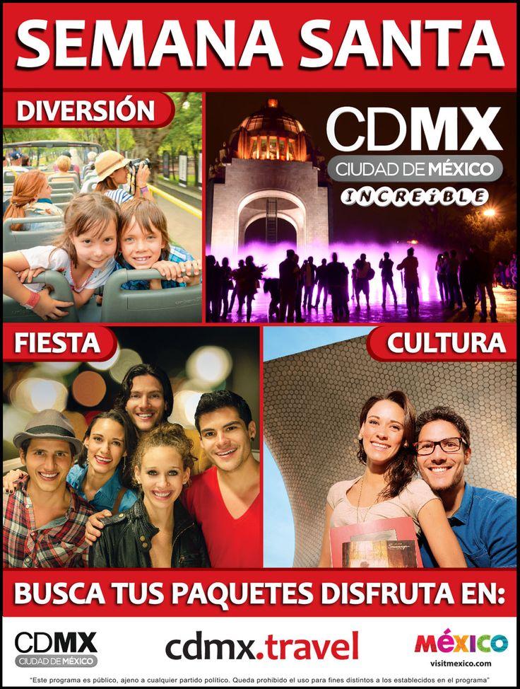 No olvides en todas tus vacaciones visita la Ciudad de México y puedes hacer reservaciones en www.hotelesenmexico.com.mx