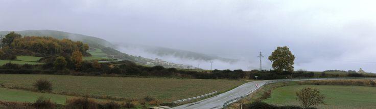 Niebla en Arizabaleta, Navarra, Diciembre 2015