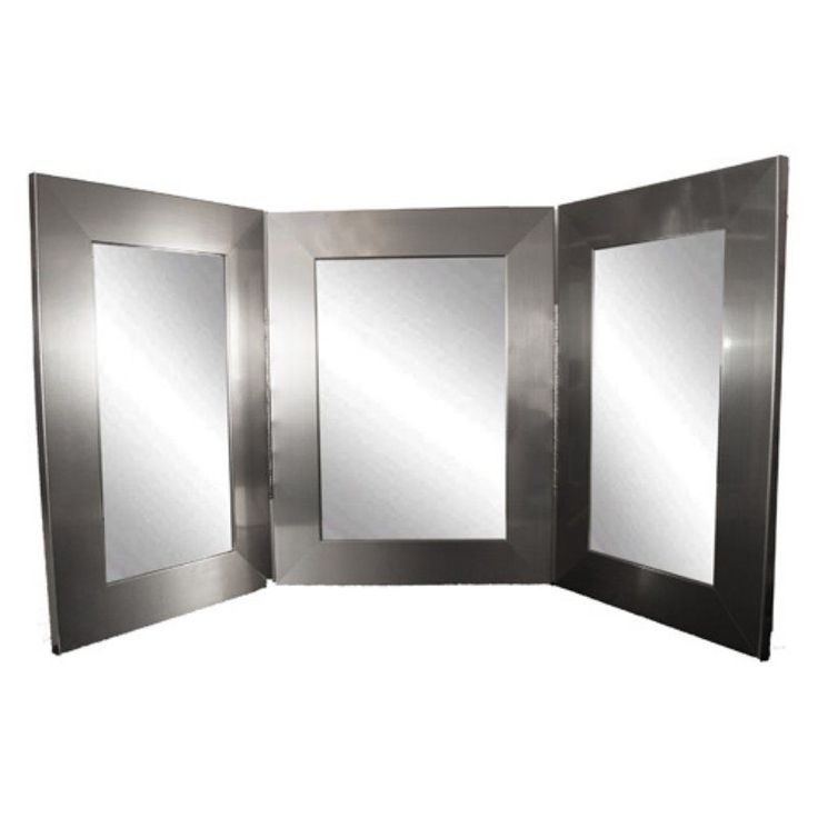 25 best ideas about tri fold mirror on pinterest Tri-Fold Mirror Bathroom Wall tri fold bathroom wall mirror