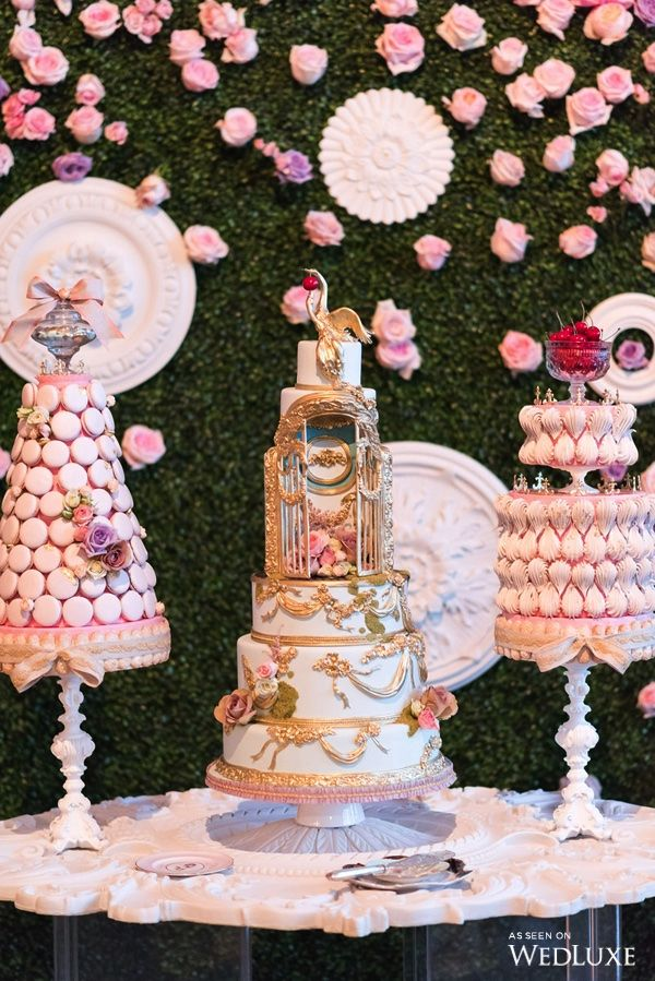 """WedLuxe– An Ode to Marie Antoinette's """"Enchanted Garden"""" 